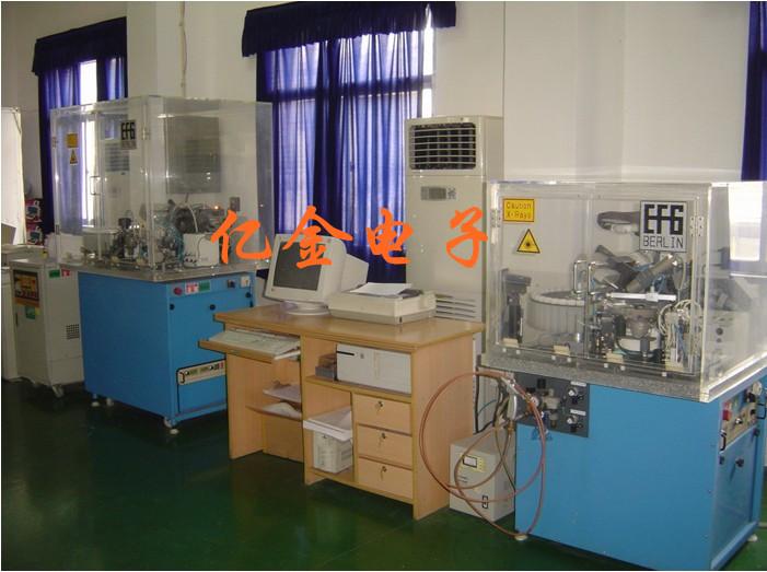 工厂贴片石英晶体谐振器生产车间